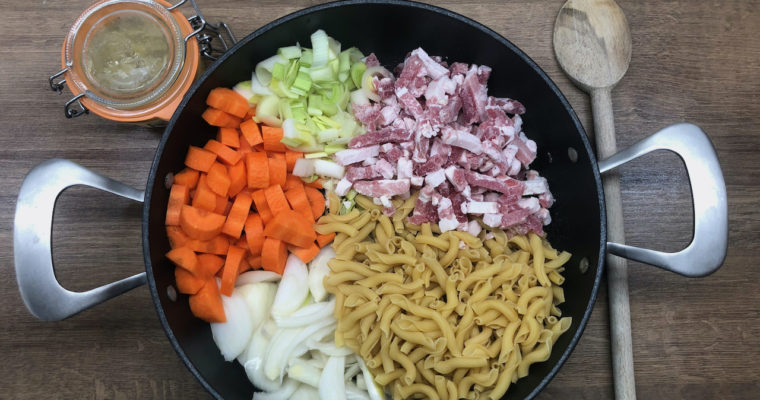 One pot pasta version hiver