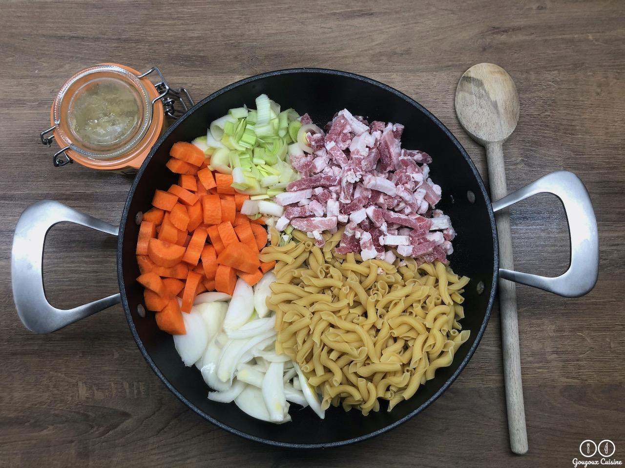 One pot pasta version hiver