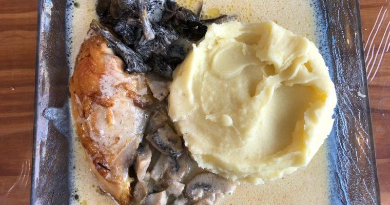 Poularde de Bresse à la crème façon Georges Blanc